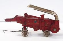 Arcade Red McCormick-Deering thresher