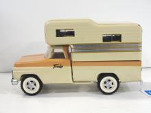 Custom Tonka truck with camper