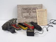 Marx No.4822 Streamline Electric Train Set