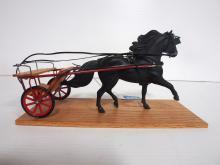 Handmade pony & cart