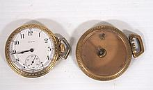 Elgin Pocket Watch with Extra Case