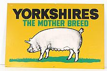 Yorkshire Hogs Sign