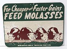 Feed Molasses Sign