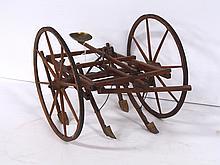 Model Horse-Drawn Cultivator