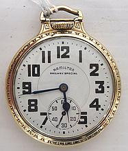 1943 Hamilton 992B Pocket Watch