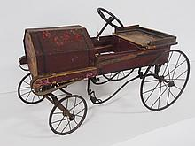 Pioneer Child's Pedal Car
