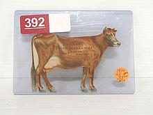 1894 Paper DeLaval Jersey Cow