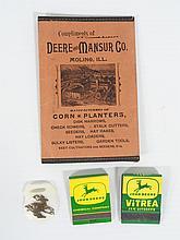 (4) John Deere Items