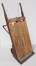 Indiana Scale & Truck Co. Feed Scale Cart