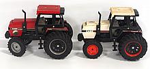 (2) Case 3294 Tractors: red & white