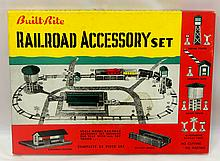 NOS Built Rite #111 Railroad Accessory Kit with original box - box & contents near mint