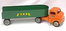 Tonka Toys Steel Carrier Truck - very good with light play wear