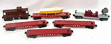 Box lot: 6 pcs Lionel rolling stock