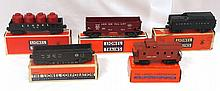 5 pcs Lionel rolling stock with original boxes