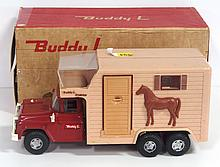 Buddy L Horse Van with horses - with original box