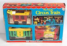 NIB Fisher Price No.991 Play Family Circus Train - near mint