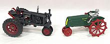 Reproduction cast iron Oliver tractor & Farmall F-20