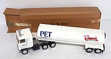 NOS Ertl Pet Milk Tanker semi with original box - near mint