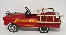 AMF pedal fire truck - rough