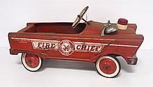 Pedal fire truck - rough