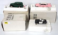 (3) Franklin Mint cars - near mint