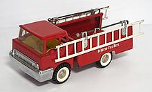 Pressed steel Structo fire engine
