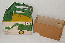 John Deere front end loader in ice cream box - Excellent