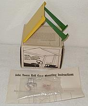 John Deere canopy top with instructions in ice cream box - Excellent