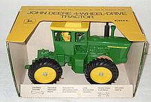 John Deere 4WD tractor with air cleaner in original box - Excellent