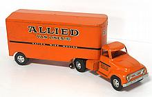 Tonka pressed steel Allied Van Lines semi - good condition