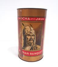 Arabian Banquet Mocha & Java Coffee tin