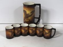 Warwick F.O.E. Pitcher & Cups Set