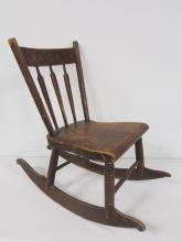 Early Child's Rocker from Pennsylvania