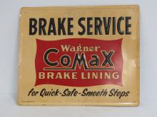 Wagner Co-Max Brake Lining Sign