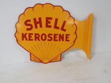 Shell Kerosene Sign