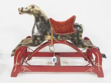 Early Wooden Child's Riding Horse