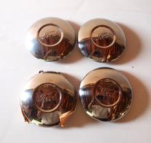 (4) Ford hub caps