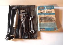 Model A tool pouch with tools & manual