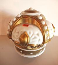 Crown glass globe
