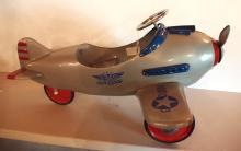 AFC Pursuit Army pedal airplane