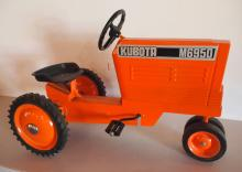 Scale Models Kubota M6950 pedal tractor