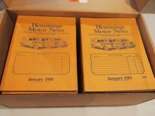 1980 & 1981 Hemmings Motor News magazines