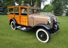 1931 Ford Model A Woody Wagon
