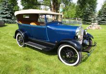 1928 Ford Model A Touring Phaeton