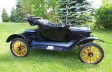 1919 Ford Model T 2-Door Coupe