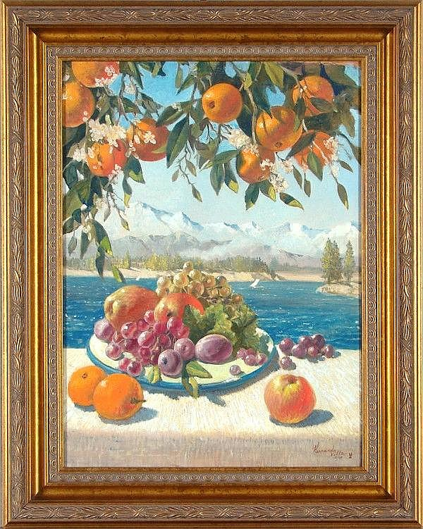 Hernando Villa (1881-1952) Californian ORANGE