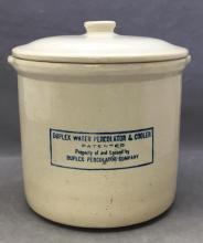 Vintage Duplex water percolator & cooler crock