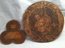 2 Pygrophy, flemish art pieces