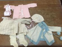 Vintage baby/doll clothes