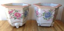 Two very nice vintage Chinese planters